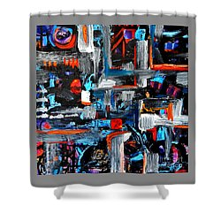 The Reprieve Shower Curtain by Expressionistart studio Priscilla Batzell