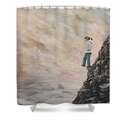 The Resolute Soul Shower Curtain