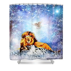 The Resting Place Shower Curtain