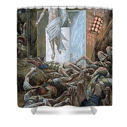The Resurrection Shower Curtain by Tissot