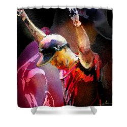 The Return Of The Tiger 04 - The Eagle Shower Curtain by Miki De Goodaboom