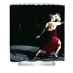 The Rhythm Of Tango Shower Curtain by Richard Young