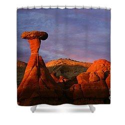 The Rim Rocks Shower Curtain by Keith Kapple