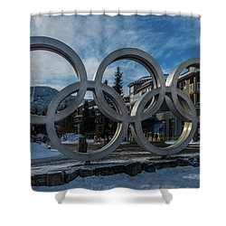 The Rings Shower Curtain