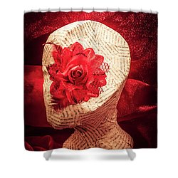 The Rise And Fall Shower Curtain