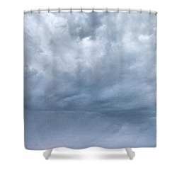 Shower Curtain featuring the photograph The Rising Storm by Jouko Lehto