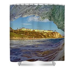 Shower Curtain featuring the photograph The Ritz Fitz by Sean Foster