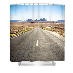 Shower Curtain featuring the photograph The Road Ahead by Jason Smith