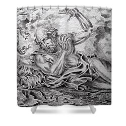 On The Road To Damascus Shower Curtain