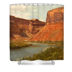 The Road To Moab Shower Curtain
