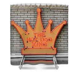 The Roanoke Weiner Stand 1 Shower Curtain