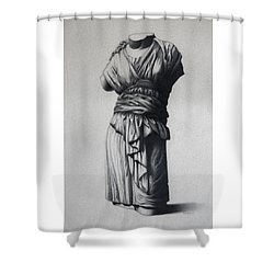 The Robe Shower Curtain