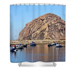Shower Curtain featuring the photograph The Rock by Art Block Collections