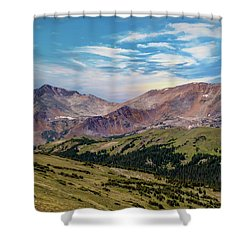 Shower Curtain featuring the photograph The Rockies by Bill Gallagher