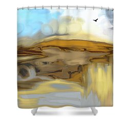 The Rocks Shower Curtain