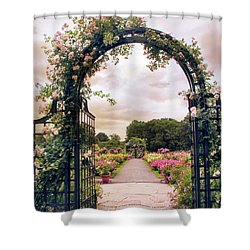 The Rose Allee Shower Curtain
