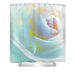 The Rose By Scott Cameron Shower Curtain