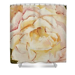 The Rose Shower Curtain by Katie OBrien - Printscapes
