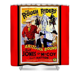 The Rough Riders Shower Curtain
