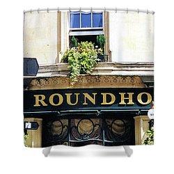 The Roundhouse Pub Bath England Shower Curtain