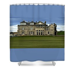 The Royal And Ancient St. Andrews Scotland Shower Curtain