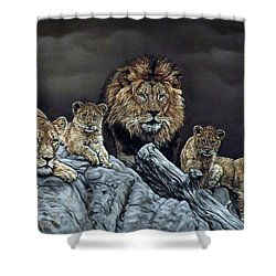 The Royal Family Shower Curtain