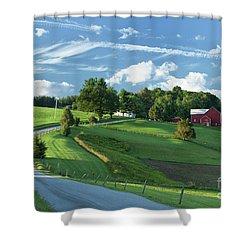 The Rudy Farm Shower Curtain