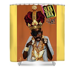 The Rula Shower Curtain