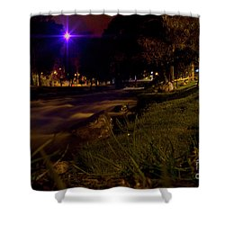 Shower Curtain featuring the photograph The Rushing Rio Tomebamba IIi by Al Bourassa
