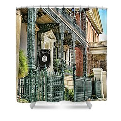 The Rutledge House Shower Curtain