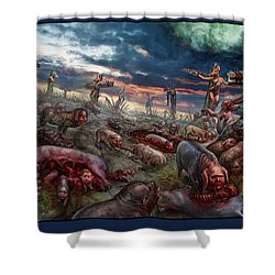 The Sacrifice Shower Curtain