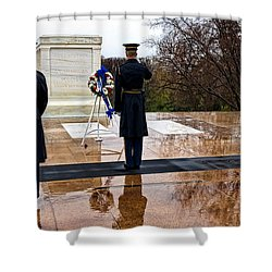 The Salute Shower Curtain