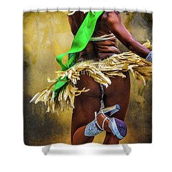 Shower Curtain featuring the photograph The Samba Dancer by Chris Lord