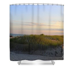 The Sand Dunes Of Long Island Shower Curtain