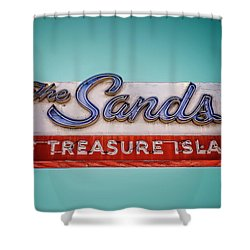 The Sands Shower Curtain by Jerry Golab