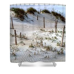 The Sands Of Obx Hdr II Shower Curtain