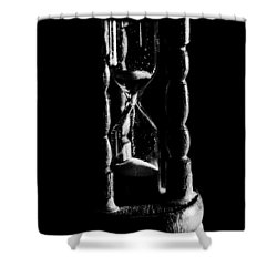 The Sands Of Time Shower Curtain by Jay Stockhaus