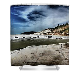 The Scala Dei Turchi II Shower Curtain