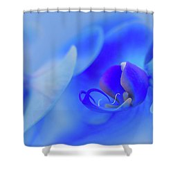 The Scent Of Blue Mystique Shower Curtain