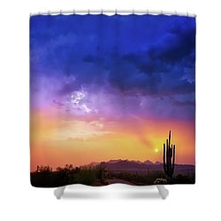 Shower Curtain featuring the photograph The Scent Of Rain by Rick Furmanek