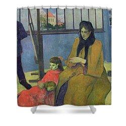 The Schuffenecker Family Shower Curtain by Paul Gauguin
