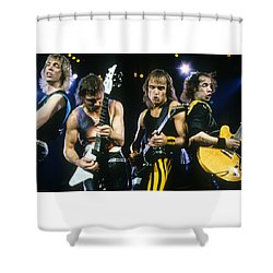 The Scorpions Shower Curtain by Rich Fuscia