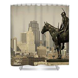 The Scout Kansas Ctiy Shower Curtain