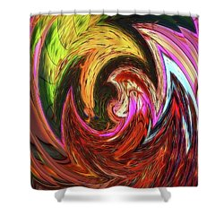 Shower Curtain featuring the photograph The Scream by Sue Melvin