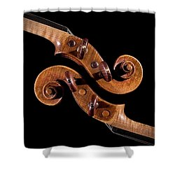 The Scroll And It's Clone Shower Curtain