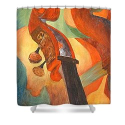 The Scroll Shower Curtain