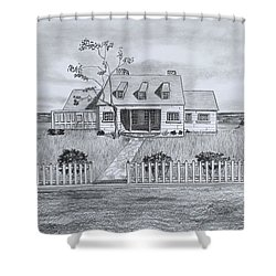 The Sea Captains House  Shower Curtain