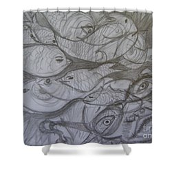 The Sea Diver Shower Curtain