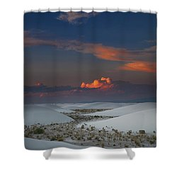 The Sea Of Sands Shower Curtain