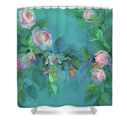 The Search For Beauty Shower Curtain by Mary Wolf
